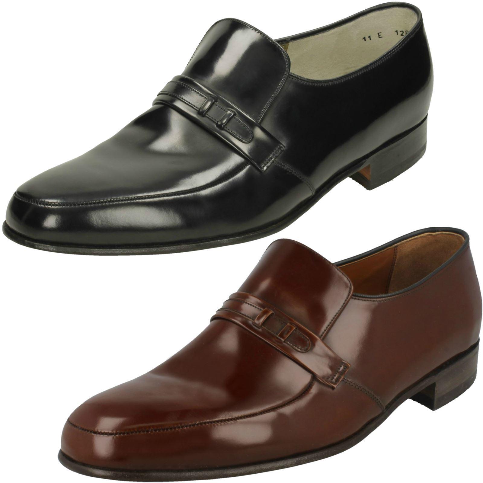 Herren Barker Slip On Schuhes Campbell 40f697
