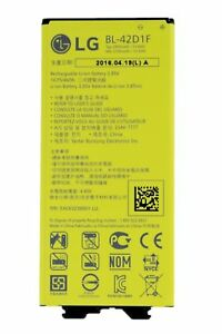 Details about LG G5 H850 H820 H830 BL-42D1F Replacement Battery New Genuine  Original