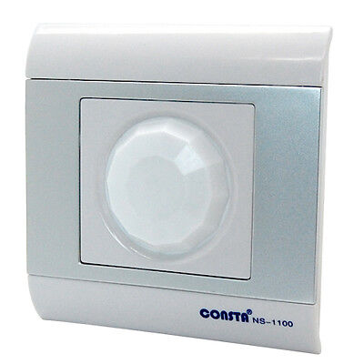Non-Touch Smart Wall Switch Lamp Light Auto ON/OFF Infrared PIR Motion Sensor