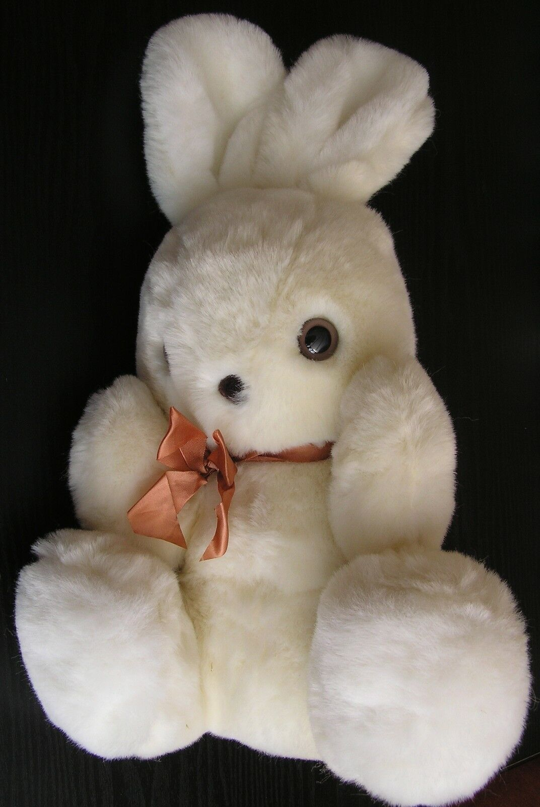Vintage Nylena Made in Belfast Bunny Rabbit Soft Toy teddy bear