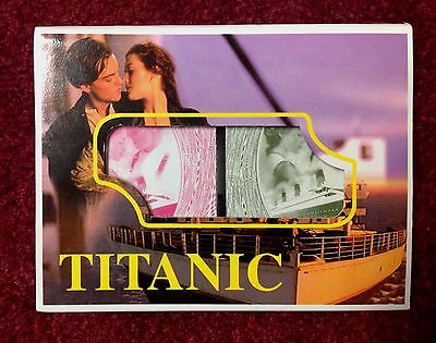 TWO DECKS OF UNOPENED TITANIC PLAYING CARDS 1 GREEN 1 PINK