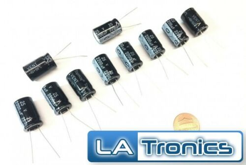 Electrolytic capacitor chemical 2200µf 2200uf 25v radial 105 ° c wh tht