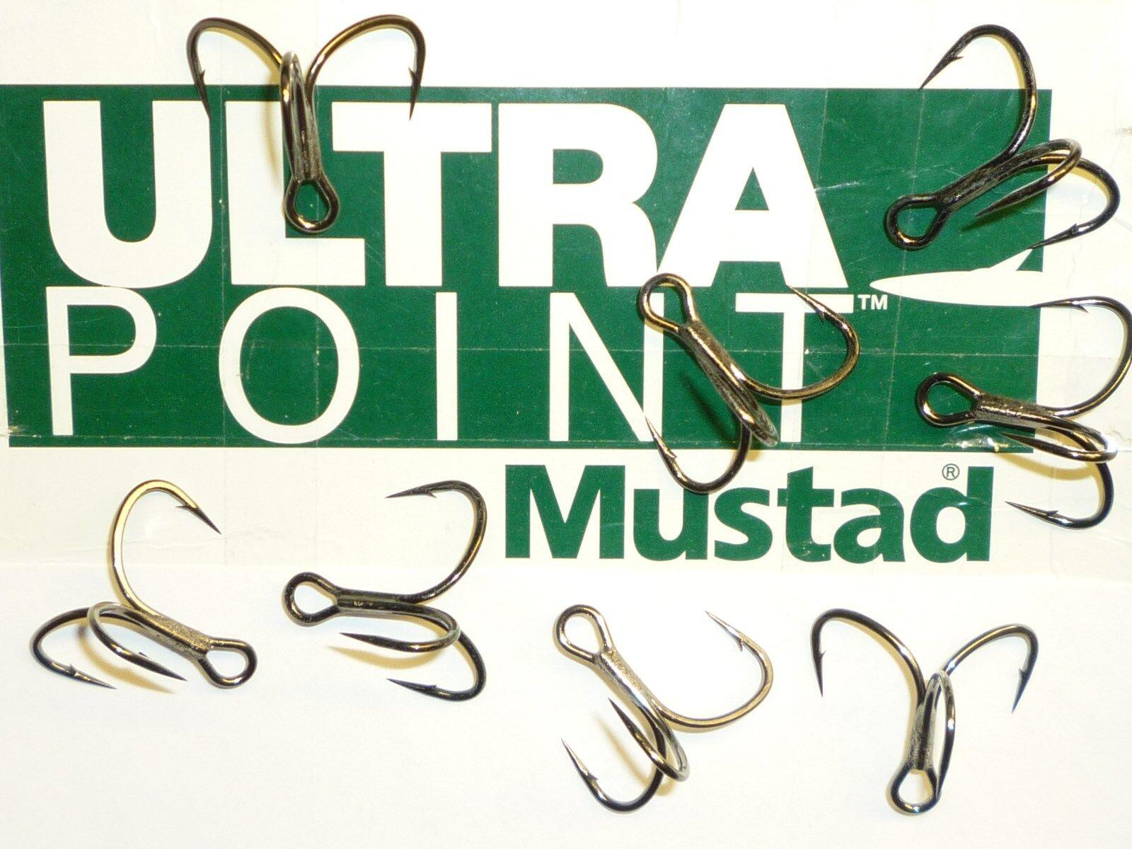 100 2/0) Mustad KVD-Elite Triple-Grip 1X Treble Hooks (Größe 2/0) 100 TG76NP-BN UltraPoint 0e402f