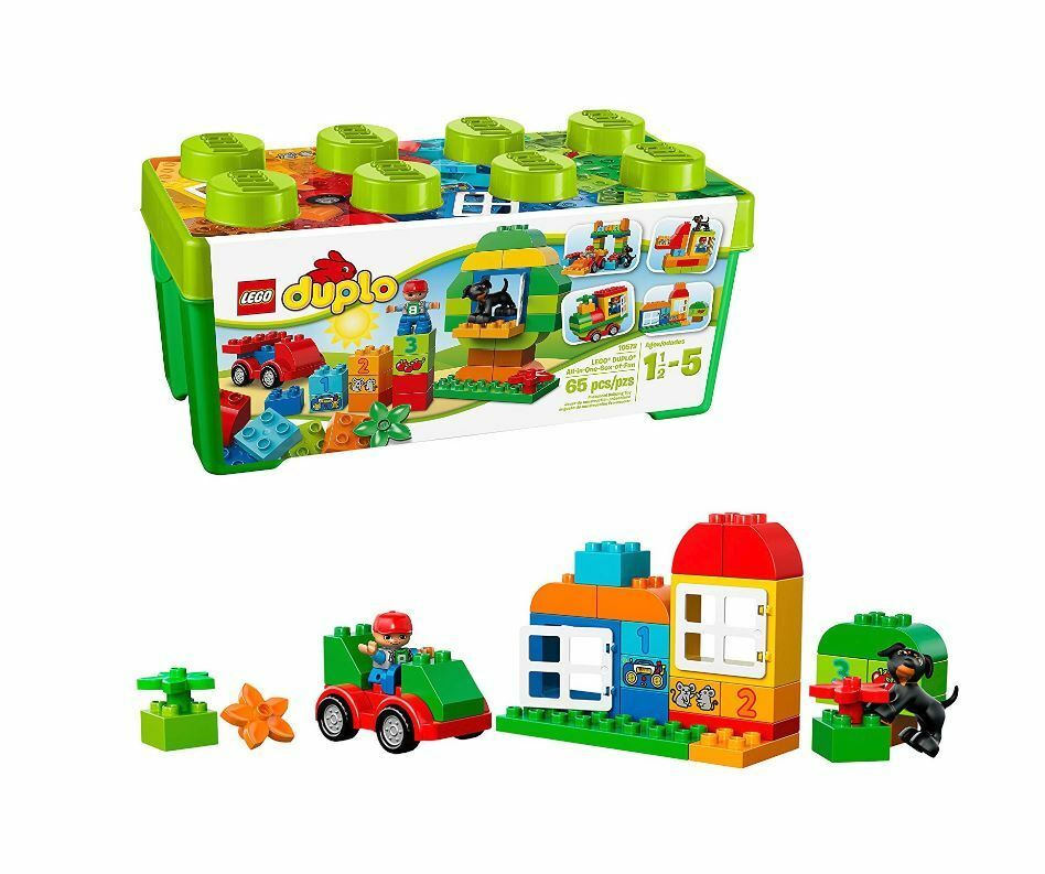 Best LEGO DUPLO 10572 Creative Play All in in in One Box of Fun Educational Preschool 227659