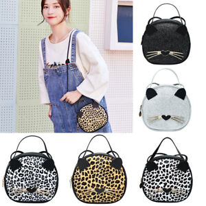 Wallet-Handbag-Candy-Color-Cute-Cat-Messenger-Bag-Shoulder-Bag-Leopard-Grain