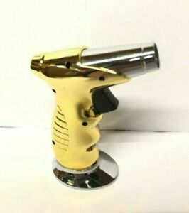 GOLD Kitchen Blow Torch BUTANE GAS MINI MICRO WIRELESS COOK SOLDERING
