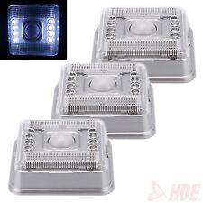 3x 8 LED PIR Auto Sensor Motion Detection Wireless Outdoor Infrared Light Lamp