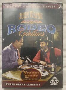 John-Wayne-RODEO-MAFIOSI-DVD-GIOVANE-Duca-Serie-3-CLASSICS-NUOVO-SIGILLATO-Freeship