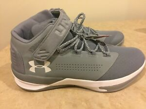 Under Armour Men s UA Get B Zee Basketball Shoes 1298310-035 Steel ... 7bff6a87dd