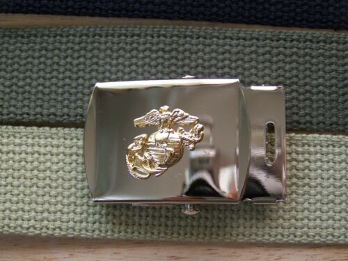 Buckle USMC Marine Corps Licensed for Belt BDU Uniform Semper Fi Uniform w P38