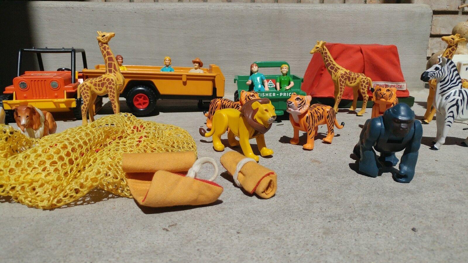 Fischer preis safari - set