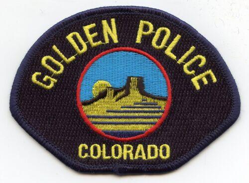 GOLDEN COLORADO CO POLICE PATCH