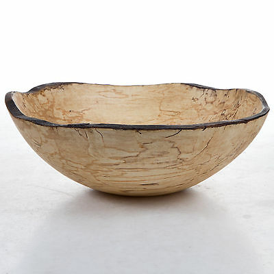 Peterman's Bowls: Spalted Maple Oval Bowl, in 3 Sizes