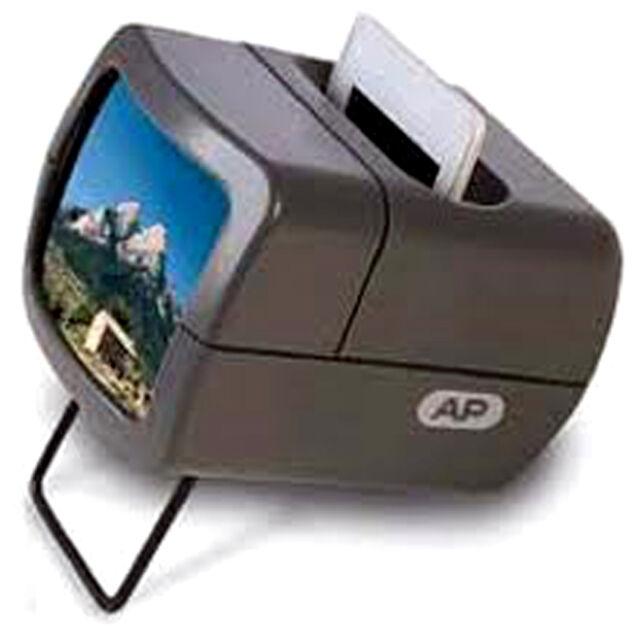 Ap Visor de Diapositivas con 2X Aumento para 35mm Montado - Iluminado
