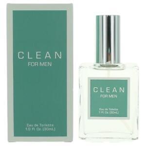Clean For Men by Dlish, 1 oz EDT Spray for Men Eau De Toilette