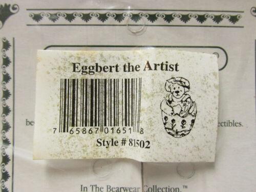 """Boyd/'s #81502 Wearable PIN /""""Eggbert the Artist/"""" EASTER Springtime  Brand New"""