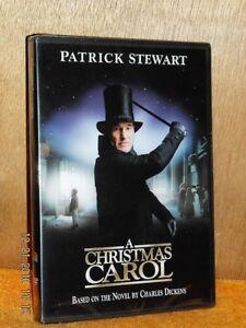 A Christmas Carol (DVD, 2017) Patrick Stewart based on novel by Charles Dickens 883929279166 | eBay