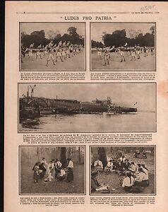 WWI-Poilus-Gymnastique-Victor-Augagneur-Ministre-de-la-Marine-1915-ILLUSTRATION