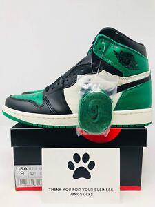 ada97dca86601a Nike Air Jordan 1 Retro High OG  Pine Green  Toe 555088-302 Size 8-9 ...