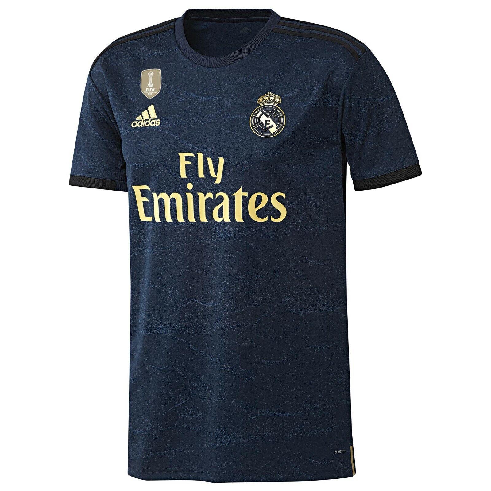Da Uomo L REAL MADRID Away Camicia 2019  20 libera MARCELO stampa 12 RM12