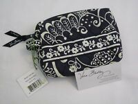Vera Bradley Twirly Birds Navy Small Cosmetic Brush Case Makeup Blue 4 Purse