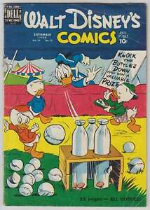 L6734-Walt-de-Disney-Comics-And-Stories-120-VG-Estado