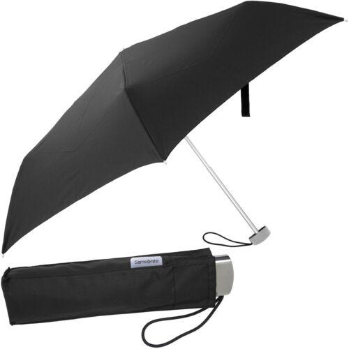 SAMSONITE Damen Herren Regenschirm Taschenschirm Mens Ladys Umbrella Mini Schirm