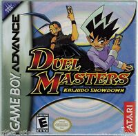 Duel Masters: Kaijudo Showdown (nintendo Game Boy Advance, 2004) Factory Sealed