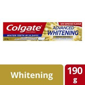 Colgate Whitening & Tartar Control Toothpaste 190g