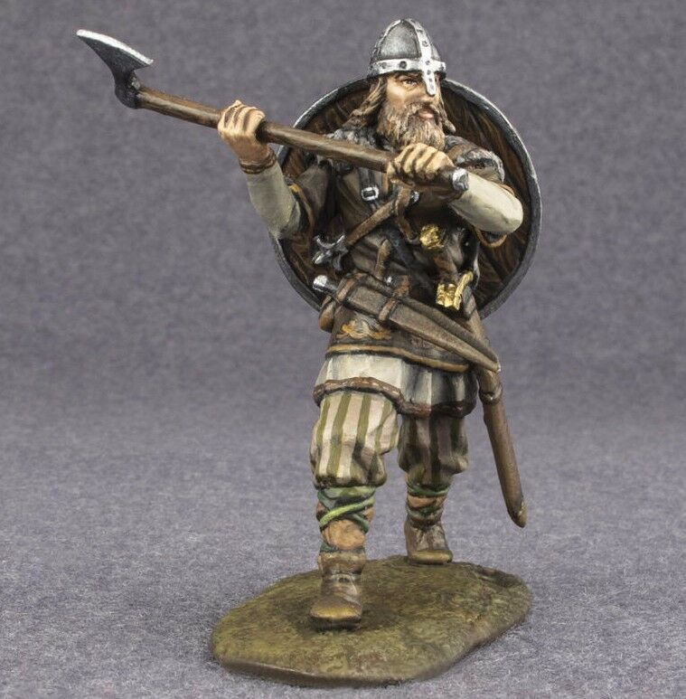 Viking Miniatures, Hand Painted Toy Soldiers, 1 32 Military Figures Vikings Toys