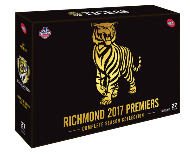 BRAND NEW AFL Premiers 2017 : Richmond Tigers Complete Season Collection DVD