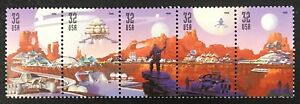 1998-Scott-3238-3242-32-Space-Discovery-Strip-of-5-Mint-NH-Ret-6-85