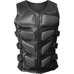 Royal-Swag-Bug-Eye-Mens-Cyber-Goth-jacket-Steampunk-Bodice-Silver-Armor-Vest