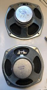 Vintage-8-034-Speaker-Pair-57075-001-8ohm-See-Embedded-Video
