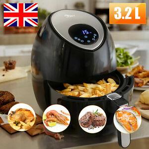 Uten Air Fryer 3 2l Kitchen Digital Healthy Cooker 1500w Oil Free Electric Oven Ebay
