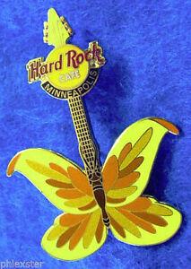 Minneapolis-2004-Farfalla-Insetto-Tatuaggio-Chitarra-Serie-Hard-Rock-Cafe-Pin-Le