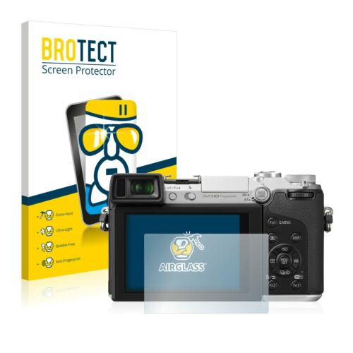 Panasonic Lumix DMC-GX7 película protectora de pantalla de vidrio de protección
