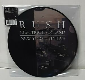 Rush-Electric-Ladyland-New-York-City-1974-Picture-Disc-LP-Vinyl-Record-new