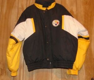 TEAM NFL STEELERS TRIPLE FAT GOOSE COAT JACKET PITTSBURG xl x-large ... 3ded1db2d
