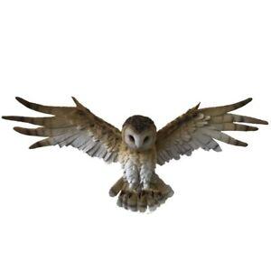 034-Wisdom-Flight-034-Large-Resin-Flying-Owl-Ornament