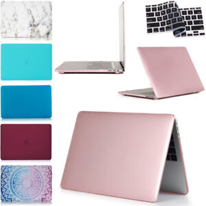 Plastic Case & Keyboard Cover For Macbook Pro 13 Inch 2017 2019 A2159 A1708