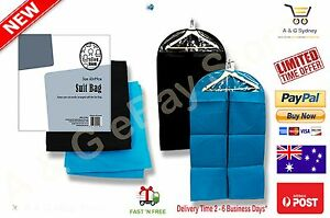 2x-BLACK-SUIT-COVER-BAGS-Jacket-Garment-Storage-Coat-Protector-Clearance-Sales