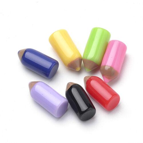 50 Lápices de Colores Lápiz Kitsch Cabujones Kawaii Lindo Decoden Artesanía Rápido Mismo Día P/&P