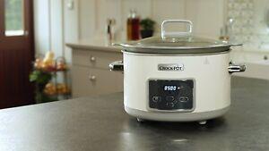 Crock-pot-Duraceramic-Csc026X-Pot-of-Slow-5-L-Oven-Dishwasher-New