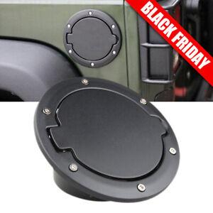 Fuel Filler Cover Gas Tank Cap For 2007-2016 Jeep Wrangler Unlimited 2//4 Door JK