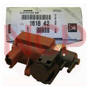 turbo solenoid electro valve for peugeot 307 407 citroen c4 c5 2 0 hdi 161842 ebay. Black Bedroom Furniture Sets. Home Design Ideas