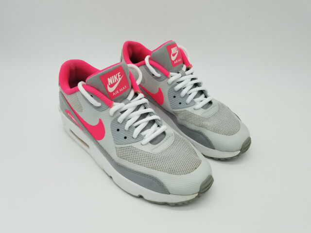 Nike Air Max 90 Ultra 2.0 GS Racer Pink White 869951 001 Size 5.5Y Women's Sz 7