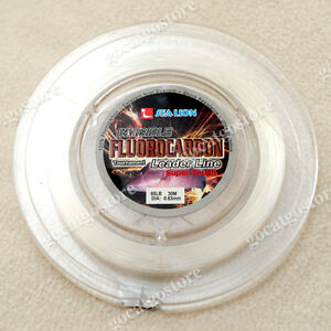 NEW-Sea-Lion-100-Made-in-Japan-Fluorocarbon-Leader-Fishing-Line-80LB-30M