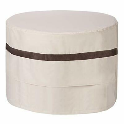 Round Fire Pit Cover 36 inch Heavy Duty Waterproof Patio ...