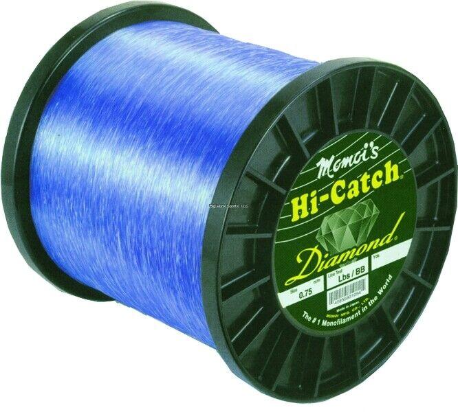 NEW Momoi Hi Catch Mono Line 80lb 3000yd Brilliant blu 31080